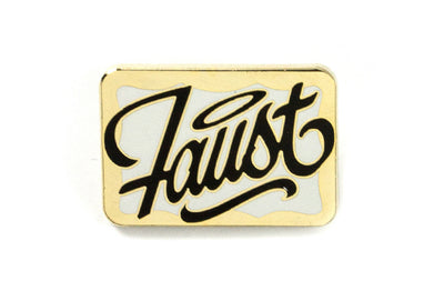 Faust - Name Tag Pin