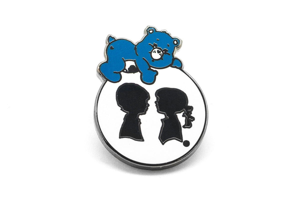 Boy Meets Girl - Grumpy Bear Pin