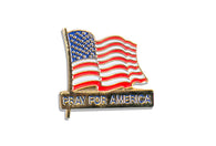 Vintage American Prayer Pin