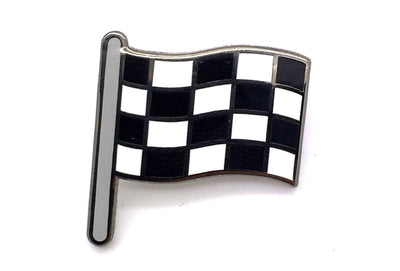 Race Flag Pin