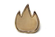 Flame Pin - Gold 2017