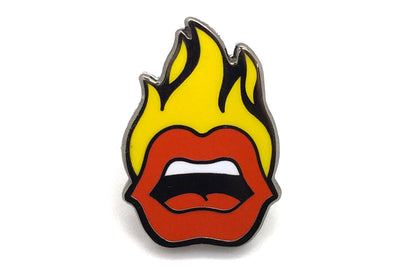 First We Feast - Fire Mouth Pin