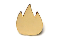 Flame Pin - Gold