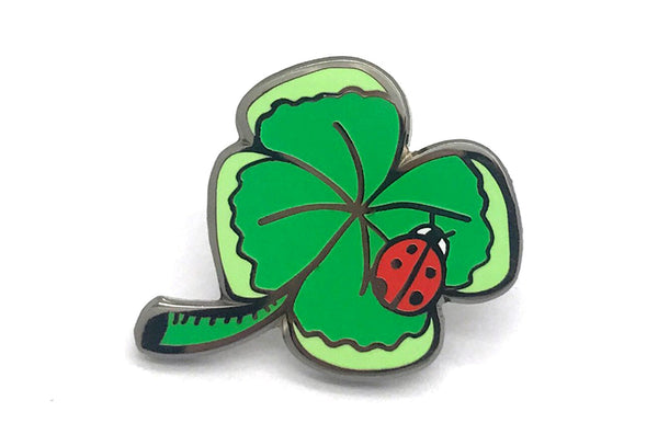 4-Leaf Clover Pin