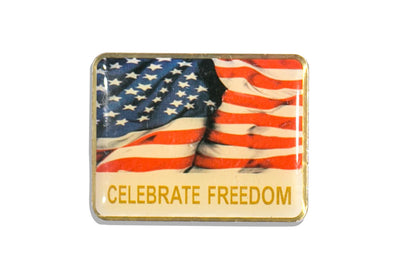 Vintage Freedom Pin