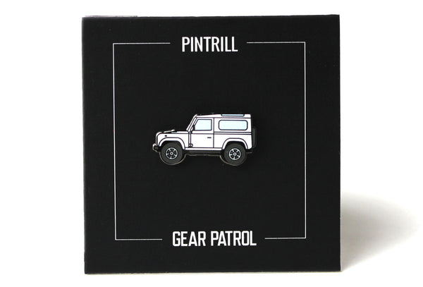 Gear Patrol - The Overlander Pin