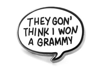 I Won A Grammy Pin