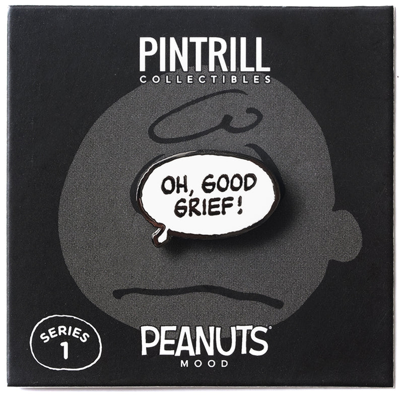 PEANUTS Mood - Good Grief Pin