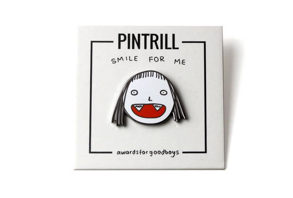 Awards For Good Boys - Smile For Me Pin - PRE-ORDER