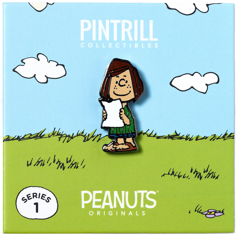 PEANUTS Originals - Peppermint Patty Pin