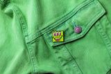 Keith Haring - Green 3 Eyed Monster Pin