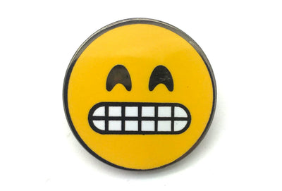 Grin Face Pin