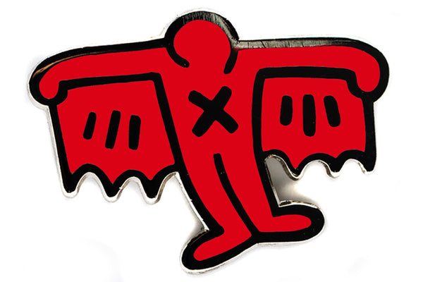 Keith Haring - Bat Demon Pin