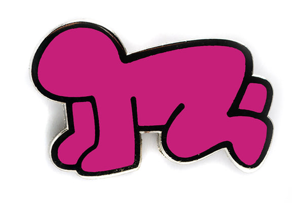 Keith Haring - Radiant Baby Pin