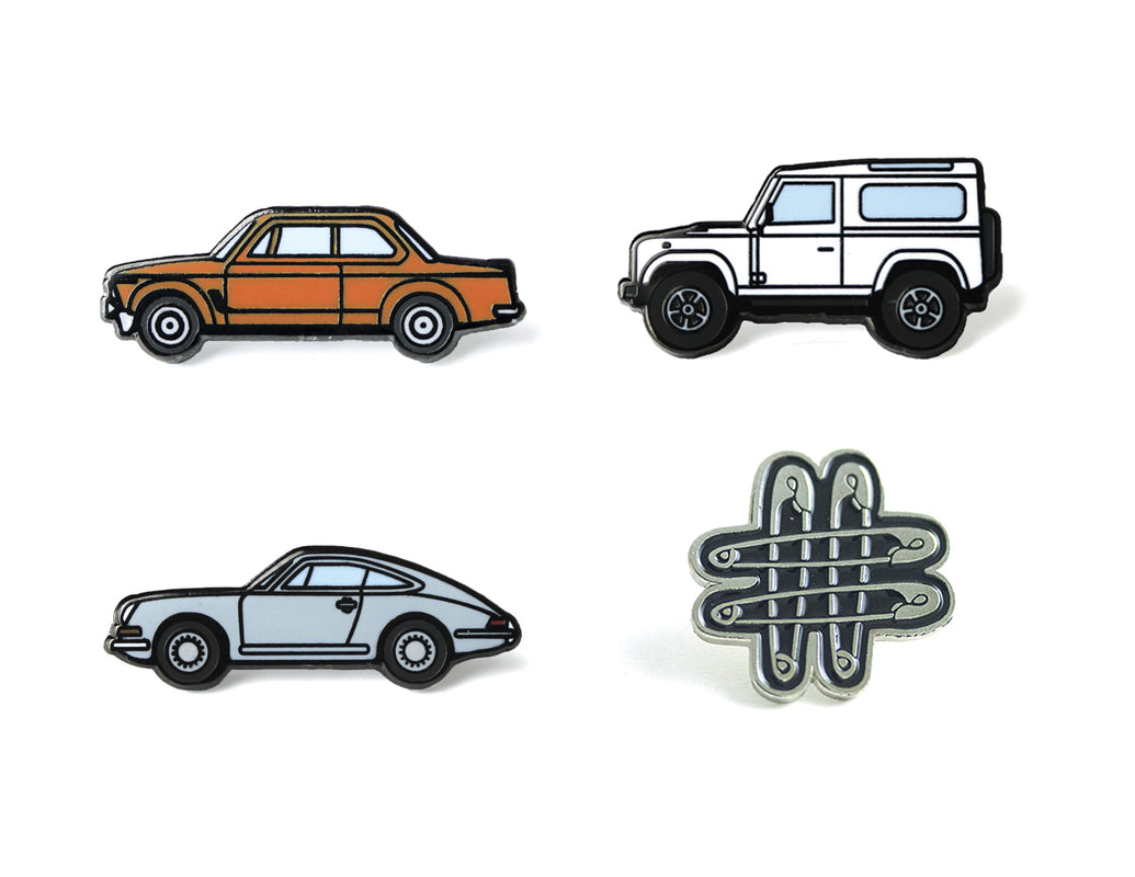 Gear Patrol Pin Pack