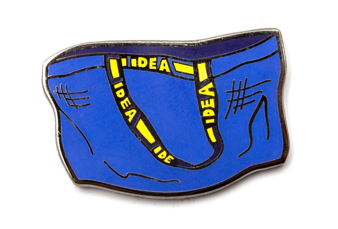 IDEA Bag Pin - Blue