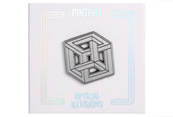Optical Illusions - Impossible Cube Pin