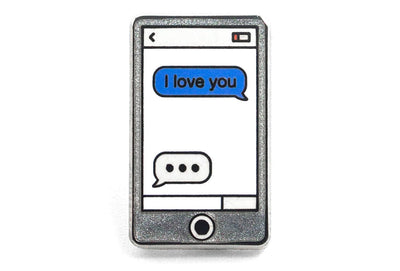 I Love You Phone Pin