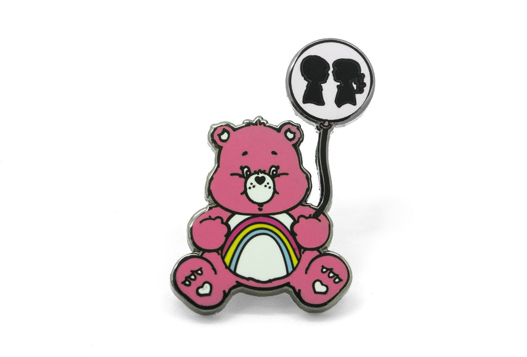 Boy Meets Girl - Cheer Bear Pin
