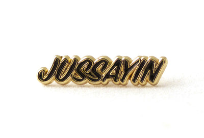 Jussayin Pin - Black and Gold