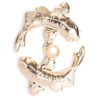 Pearl River - Swimming Fish Pin