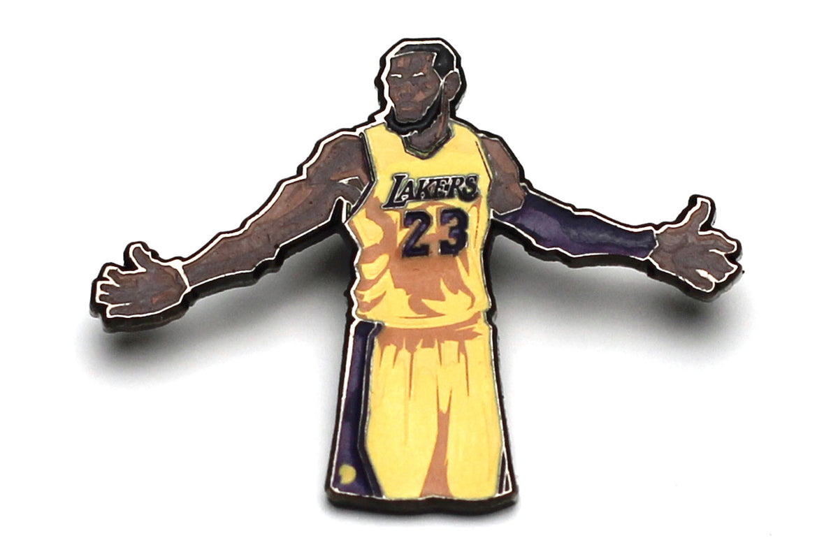 NBALAB x BLOCKNATION - LeBron James Pin