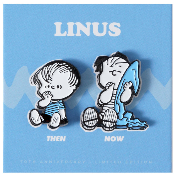 PEANUTS Then and Now - Linus Pin Set