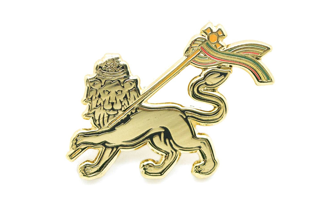 Walsh Fire - Gold Lion Pin