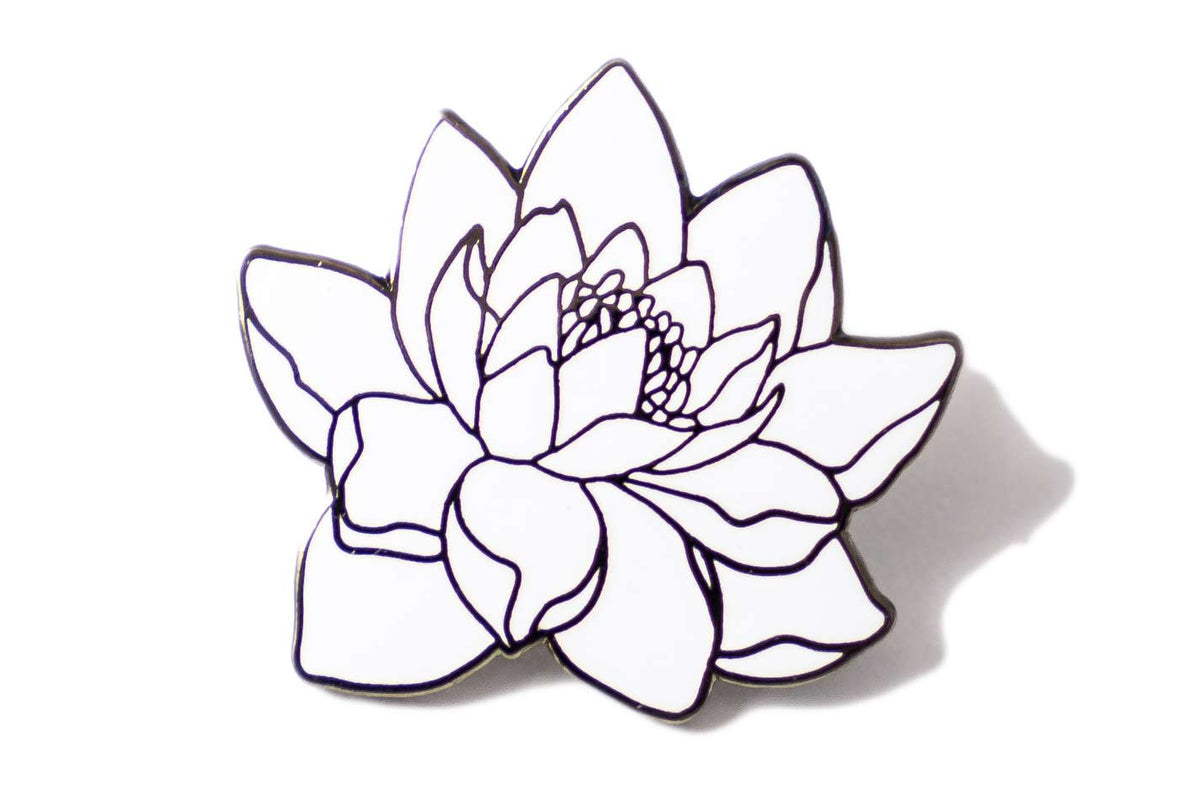 Sophia Chang Lotus Flower Pin