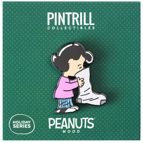 PEANUTS Mood - Lucy Stocking Pin