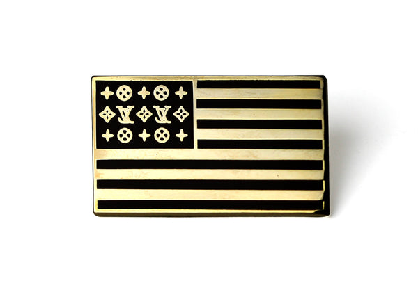 Luxe Flag Pin