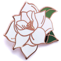 Flower Series - Magnolia Pin