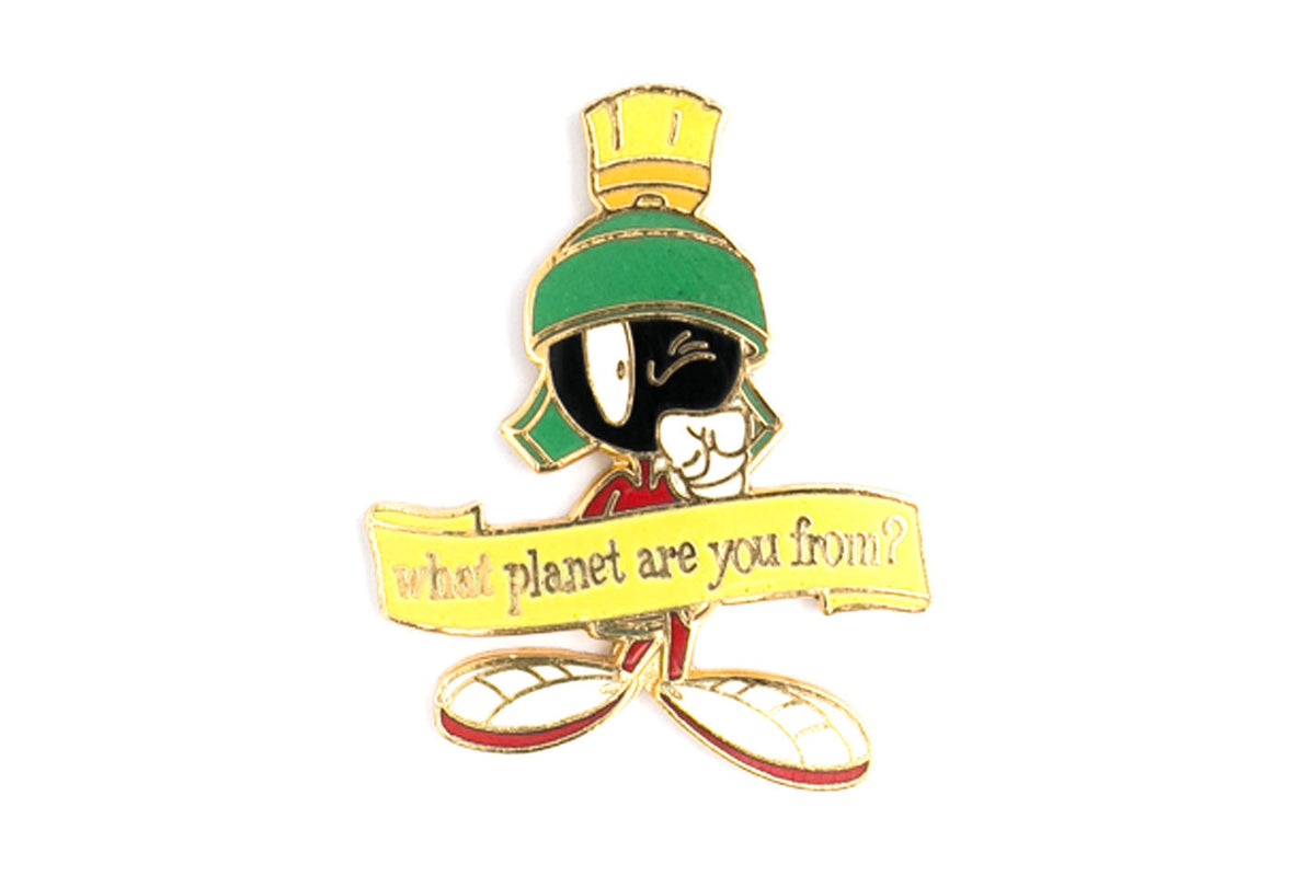 Vintage Marvin The Martian 1 Pin