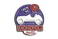 Vintage McDonald's Monopoly Car Pin