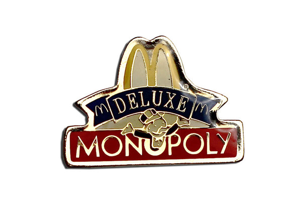 Vintage McDonald's Monopoly Deluxe Pin