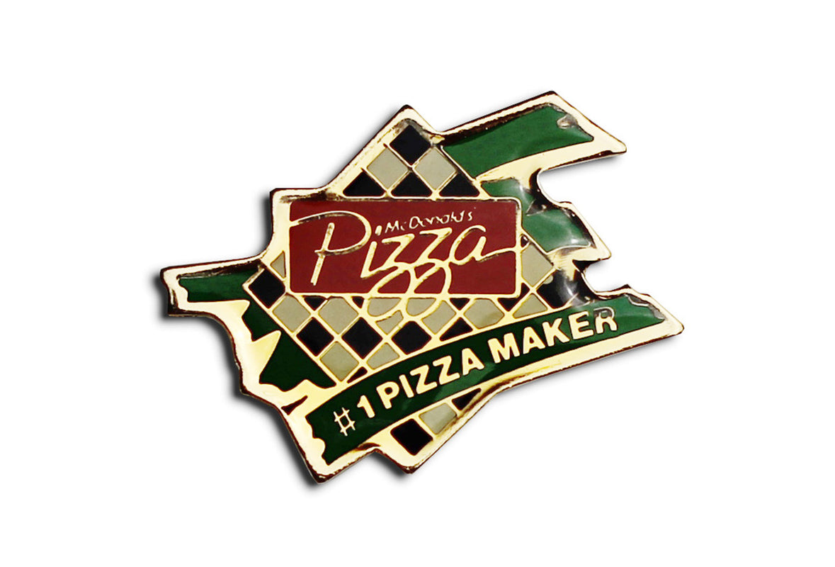 Vintage McDonald's Pizza Maker Pin