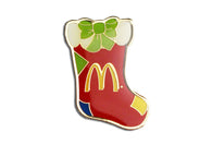 Vintage McDonald's Stocking 2 Pin
