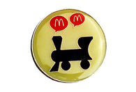 Vintage McDonald's Train Pin