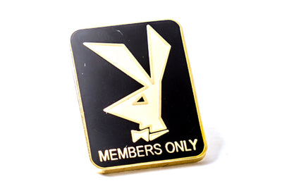 Members Only Naturel Pin