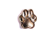 Mini Dog Paw Pin - Gold
