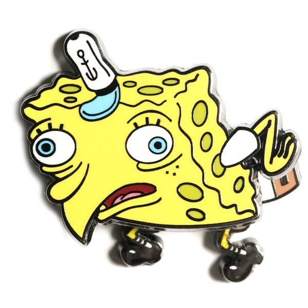 PREORDER SPONGEBOB SQUAREPANTS - MockingBob Bobble Pin