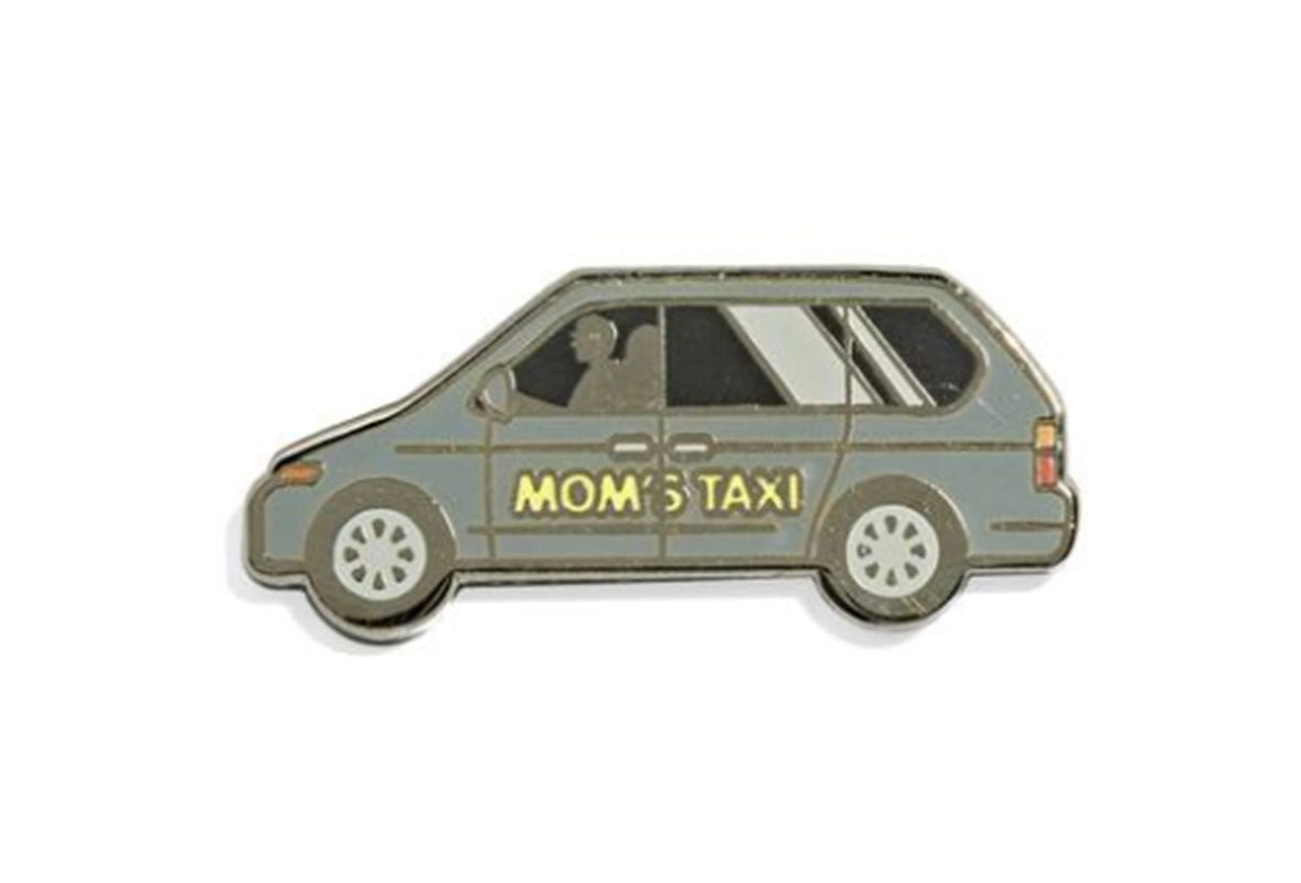 Mom's Minivan Pin