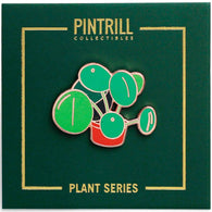 Plant Series - Chinese Money Plant Pin