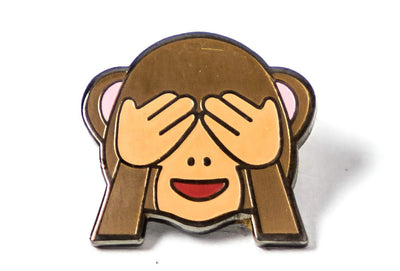 Monkey See No Evil Pin