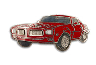 Vintage Red Muscle Car pin