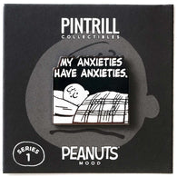 PEANUTS Mood - Anxieties Have Anxieties Pin