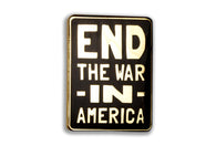 End The War Pin