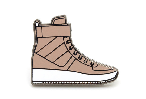 Military Sneaker Pin - Tan