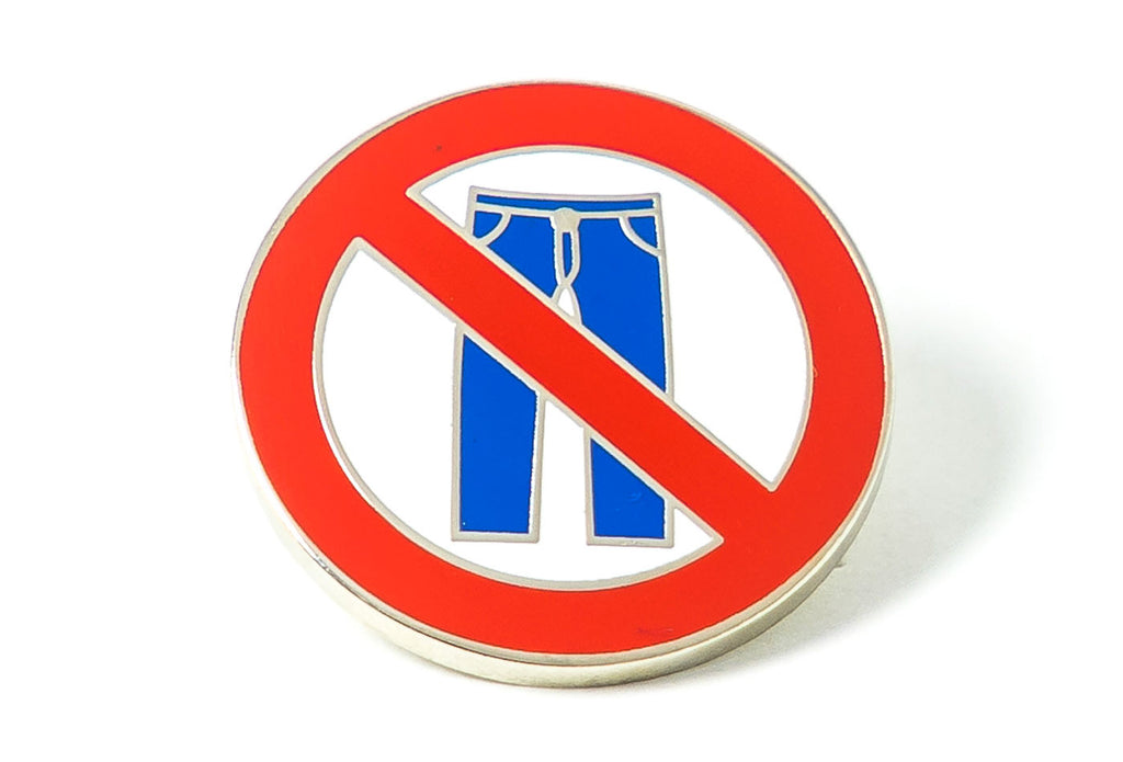 No Pants Pin
