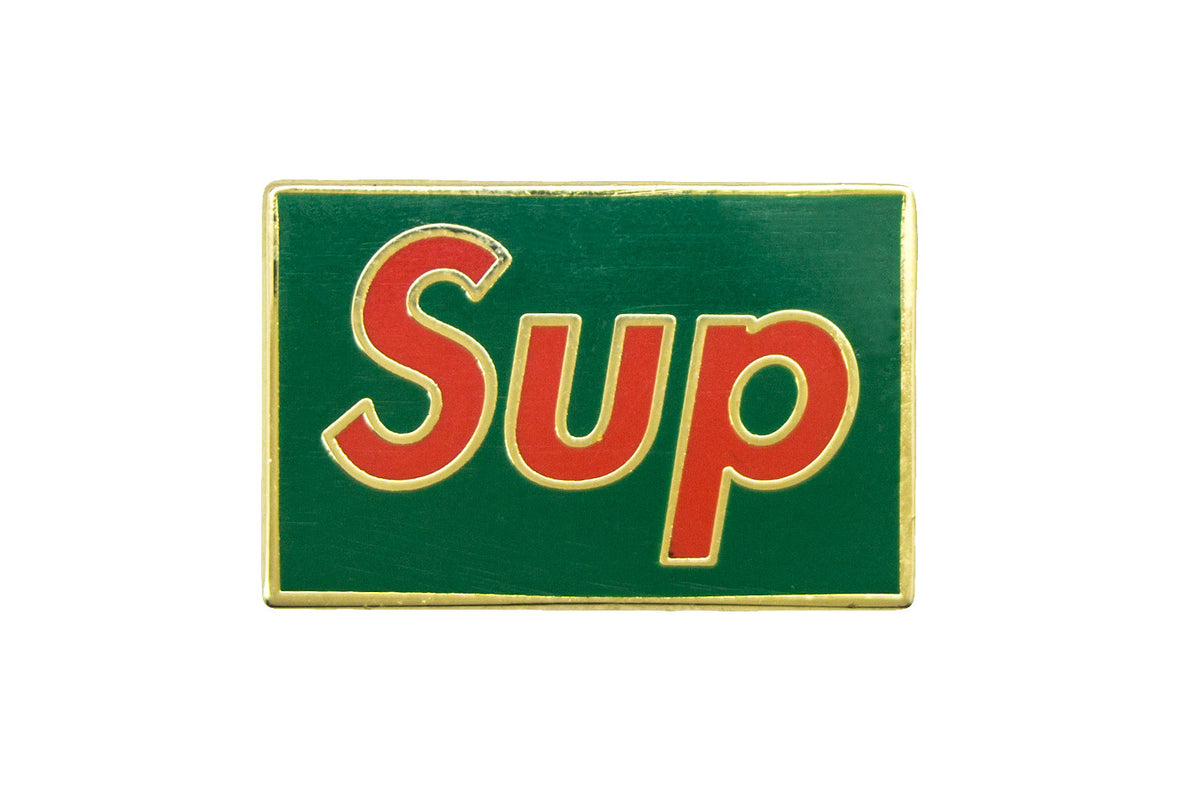 "Christmas ""Sup"" Pin"